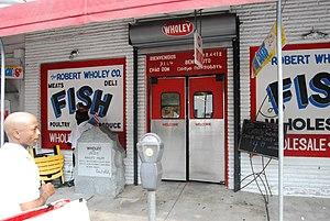 Wholey's - Image: Wholeys entrance