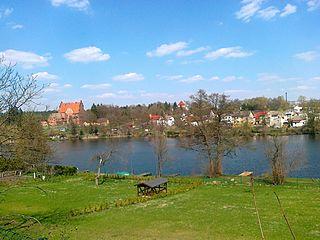 Biały Bór Place in West Pomeranian Voivodeship, Poland