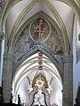 Wiener Neustadst Liebfrauenkirche Triumphbogen.JPG