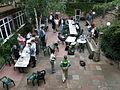 Wikimania--4 agosto--Wikimaniaci al lavoro.jpg