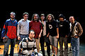 Wikimania 2009 - Richard Stallman en el teatro Alvear con asistentes (22).jpg