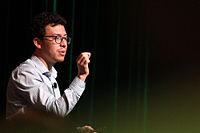 Wikimania 2015 - Joe Sutherland 01.jpg