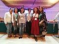 Wikimedia Armenia team at Wikimania'19 closing ceremony.jpg