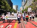 Wikimedia Foundation participates in San Francisco Pride parade 2018.jpg