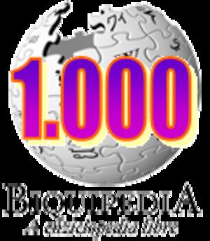 Aragonese Wikipedia - Image: Wikipedia 1000 an