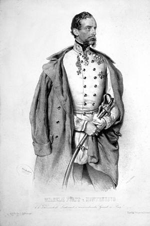 William Albert, 1st Prince of Montenuovo - Image: Wilhelm Albrecht von Montenuovo
