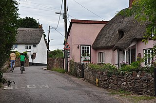Willand village in the United Kingdom