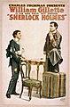William Gillette - Sherlock Holmes poster 1.jpg