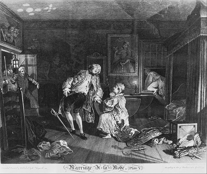 File:William Hogarth - Marriage à la Mode, Plate 5, (The Death of the Earl) - Google Art Project.jpg