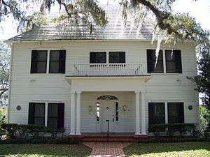 William Sherman Jennings House - Image: William Sherman Jennings House Brooksville 02