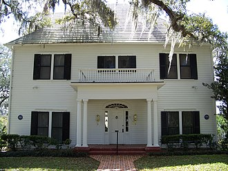 William Sherman Jennings House - Image: William Sherman Jennings House Brooksville 02