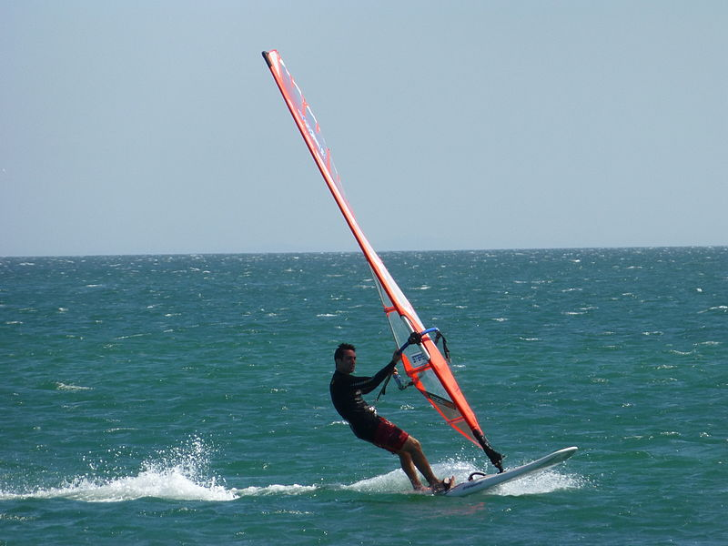 Windsurfing At Calangute