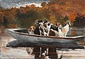 Winslow Homer - Hunting Dogs in Boat (1889).jpg