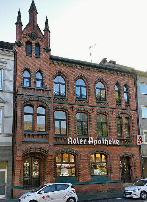 Wohngebäude Marktplatz Beeck 6 Duisburg
