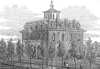 George M. Randall (bishop) - Wolfe Hall, an Episcopalian academy for girls in Denver, Colorado, 1871