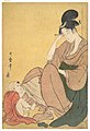 Woman and Child, Utamaro, MET JP2812.jpg