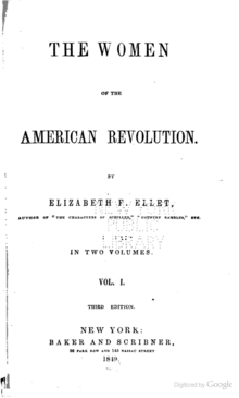 Women of the American Revolution-Vol I.png