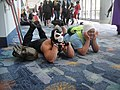 WonderCon 2012 - Bane and Finn...just chillin' (6873356564).jpg