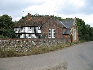 Grade II* listed buildings in East Hertfordshire - Image: Wood End geograph.org.uk 214523