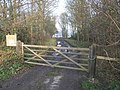Wood and Gate - geograph.org.uk - 297183.jpg