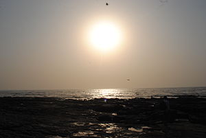 Worli - Sunset at Worli Sea-face, Mumbai