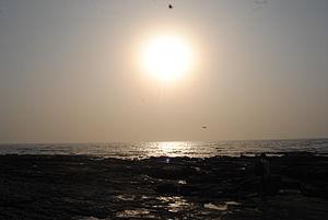 Worli - Sunset at Worli Sea-face, Mumbai