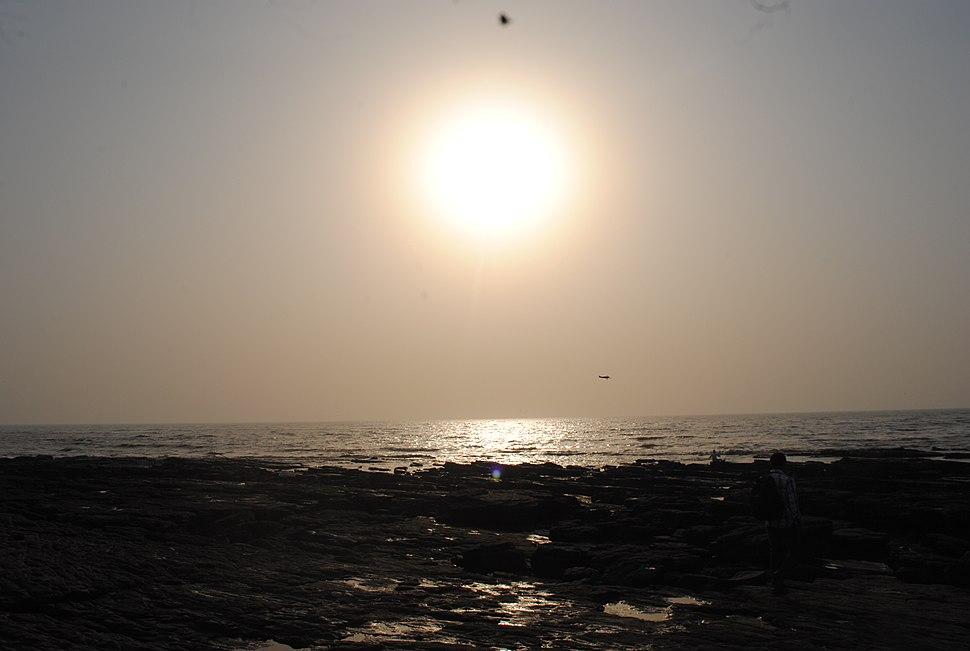 Worli sea face-sunset