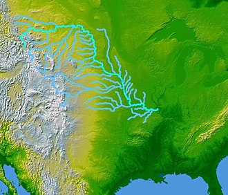 Missouri River Valley - The Missouri River and its tributaries