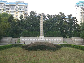 History of Sino-Russian relations - Monument to Soviet aviators in Wuhan