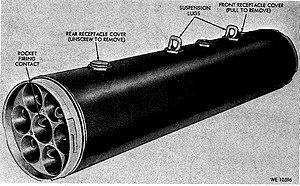 Folding-Fin Aerial Rocket - XM157 Rocket Pod