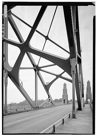 Yaquina Bay Bridge - Image: Yaquina Bridge Interior