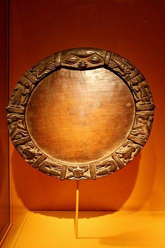 Yoruba religion - Yoruba divination board Opon Ifá