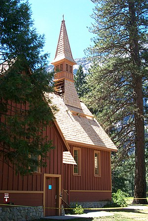 Yosemite Valley Chapel - Image: Yosemite Valley Chapel