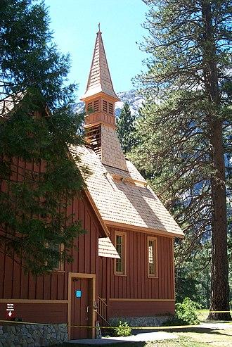 Yosemite Valley Chapel - Image: Yosemite Valley Chapel