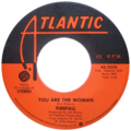 You Are the Woman by Firefall US vinyl A-side.png