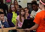 Youth Center uses robots to encourage STEM interest 151221-F-SE307-051.jpg