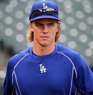 Zack Greinke - Greinke with the Los Angeles Dodgers in 2015