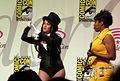 Zatanna's Magic Tricks skit at WonderCon 2010 Masquerade 1.JPG