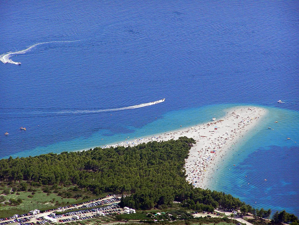Zlatni rat from Vidova Gora