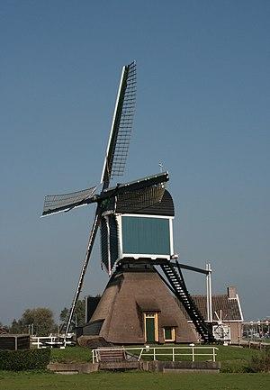 Zoeterwoude-Rijndijk - Grote Molen (Big Windmill)