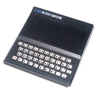 Sinclair Research - Timex Sinclair 1000, a U.S. version of the Sinclair ZX81