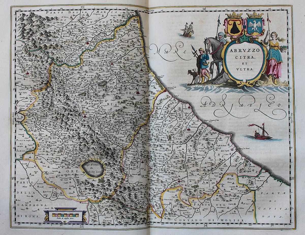 Cartina Geografica Roccaraso.Cronologia Della Storia Dell Abruzzo Wikipedia