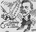 """JANUARY"" ""ELECTED A MORMON"" ""SMOOT"" ""SENATORSHIP""- 1903 in Review (Bob Satterfield cartoon) (cropped).jpg"