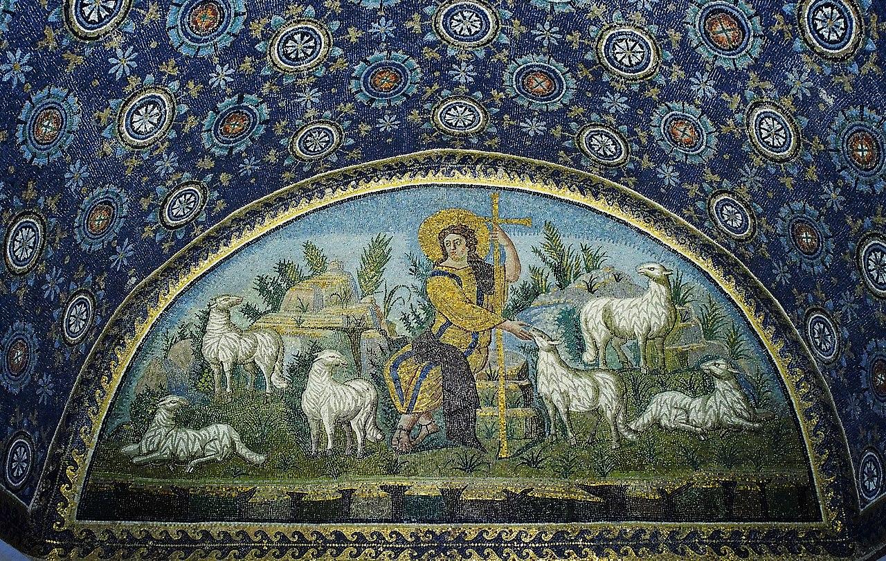 Мозаика «Христос — Добрый Пастырь»