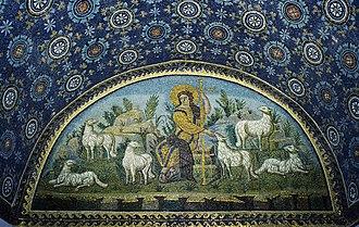 Mausoleum of Galla Placidia - The Good Shepherd.
