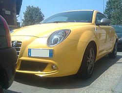 ' 08 - ITALY - Alfa Romeo Mito Gialla a Milano 02.jpg