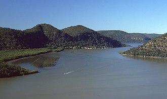 Marramarra National Park - Image: (1)Hawkesbury River from Marramarra NP 1
