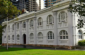 John Watts (military architect) - National Trust of Australia headquarters Observatory Hill, Sydney.