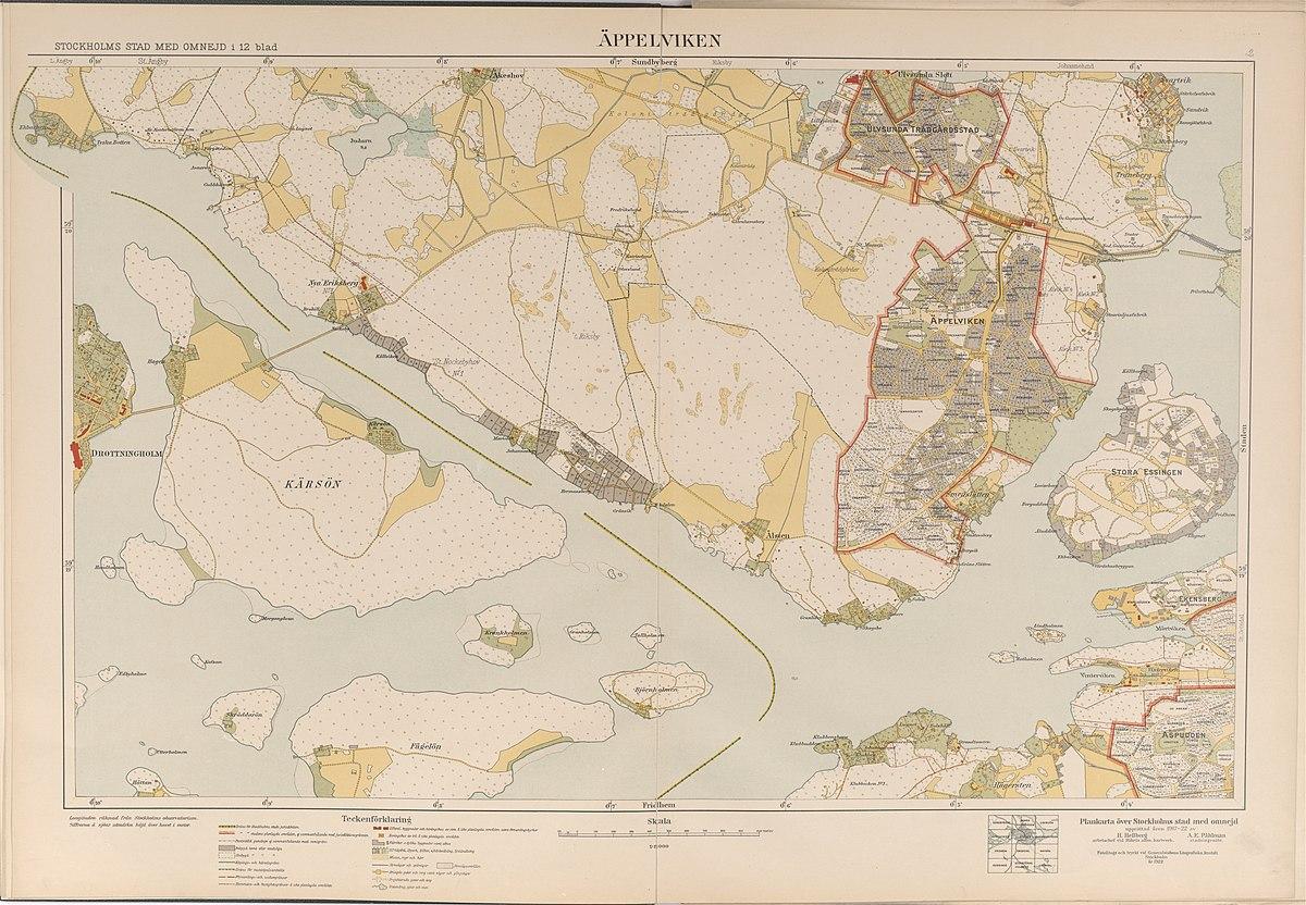 File Appelviken Karta Fran 1917 1922 Jpg Wikimedia Commons