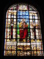 Église Saint-Germain de Pantin, vitrail 02 sanctus Mattheus.JPG